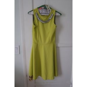 dd63dfebe5ae Dresses - New Neon Green Skater Dress